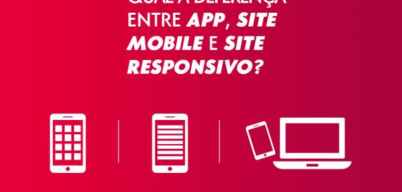 Entenda a diferença entre app, site responsivo e site mobile